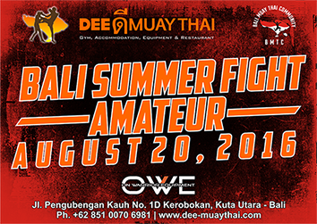 bali summer fight 2016